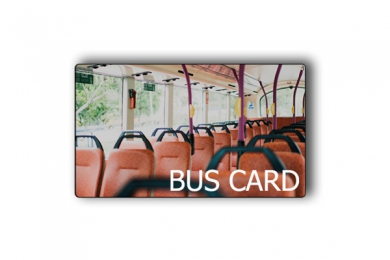 Transportation PVC BUS METRO card