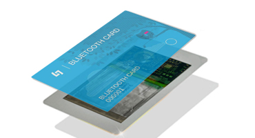 Bluetooth iBeacon Card